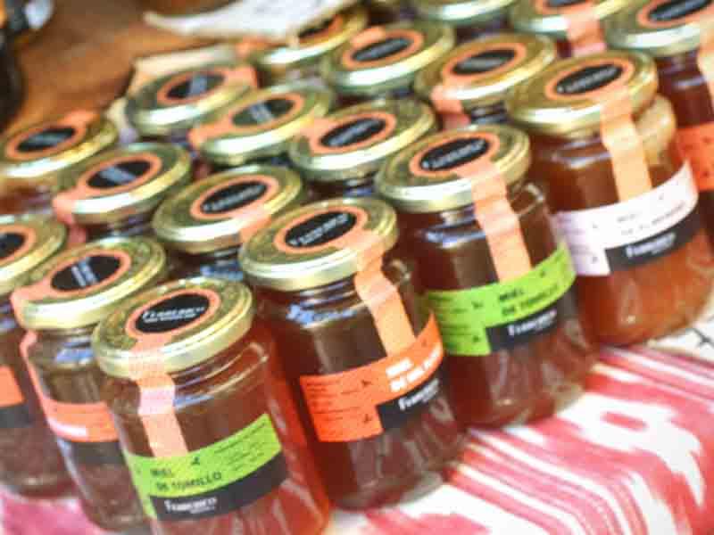 Rebost variedades de miel